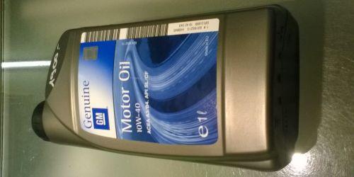 GM Genuine 10W-40 - Motorolaj 1L ACEA A3/B4. API SL/CF 1900Ft